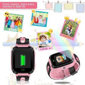 reloj inteligente con gps para niños